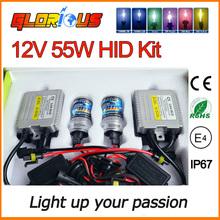 55W CANBUS HID Xenon Kit C5 H7 H1 H3 H4-1 H8 H11 9005 HB3 9006 HB4 881 D2S 4300K 5000K 6000K 8000K 10000K CANBUS HID Xenon Kit(China (Mainland))