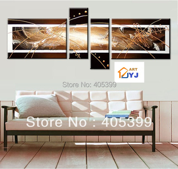Free Shipping !! The Warm! ! Huge  Real Handmade Modern  Oil Painting On Canvas Wall Art ,Z058