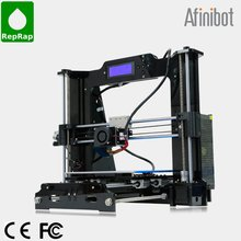 2015 Afinibot 3d printer DIY Kit with Acrylic Frame LCD Screen Acquired Reprap Prusa i3 desktop impressora +Free 2Kg filament