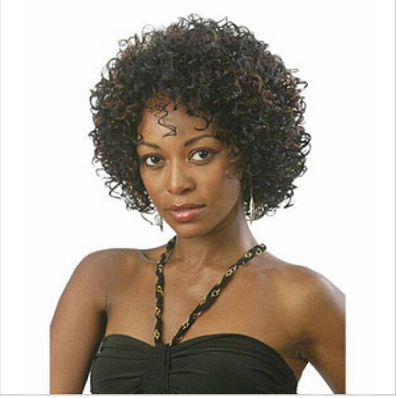 2015 New stylish fashion Short Afro kinky curly wigs for black women ...