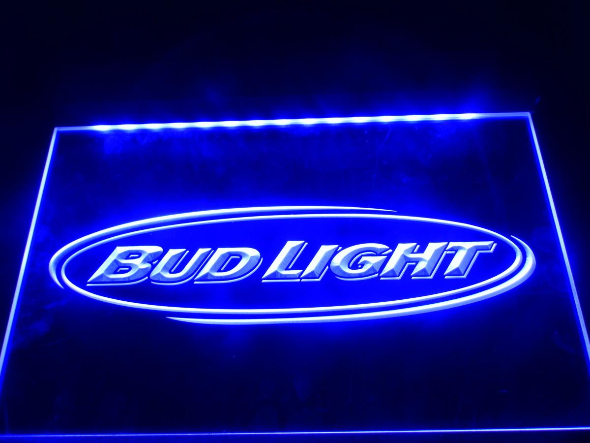 la001 bud light beer bar pub club nr led neon light sign. Black Bedroom Furniture Sets. Home Design Ideas