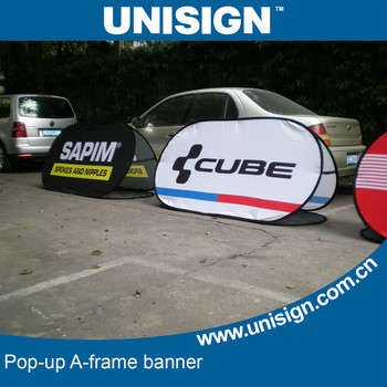 60x100cm pop-up A Frame banner for advertising