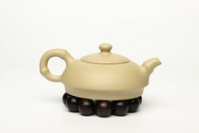 Yixing quality goods made in china Purple sand teapot Bamboo shape color and other purple sand