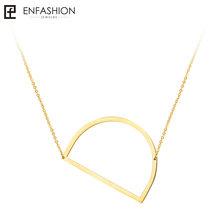 Thư thời trang Dây Chuyền Mặt Dây Alfabet Vòng Cổ Ban Đầu Vàng ColorStainless Thép Choker Necklace Nữ Jewelry Kolye Collier(China)