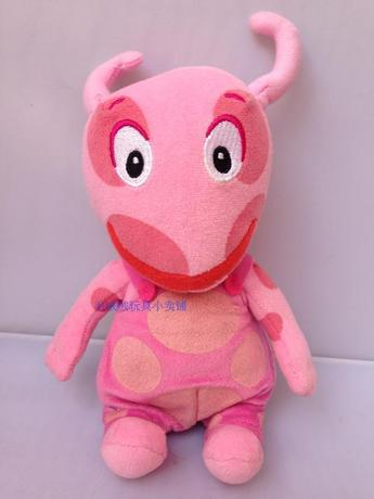 2014 new Hot sales Free shipping 15cm Original The Backyardigans plush toys uniqua juguetes de los cabritos(China (Mainland))