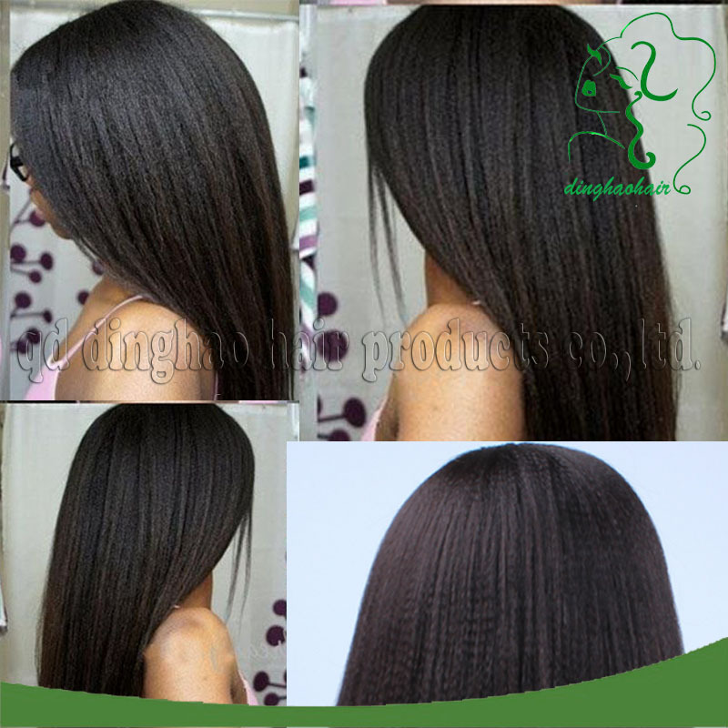 Здесь можно купить  100% Brazilian Virgin Hair Italian Yaki Full Lace Wigs/Lace Front Wigs Yaki Straight Full Lace Human Hair Wigs For Black Women  100% Brazilian Virgin Hair Italian Yaki Full Lace Wigs/Lace Front Wigs Yaki Straight Full Lace Human Hair Wigs For Black Women  Волосы и аксессуары