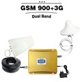 LCD Display GSM 900 Repeater 3G 2100 Cell Phone Signal Booster GSM WCDMA Dual Band Repeater