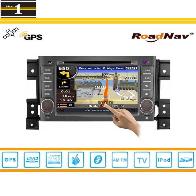 For 2006~2013 Suzuki Grand Nomade - Car GPS Navigation System + Radio TV DVD BT iPod 3G WIFI HD Screen S100 Multimedia System<br><br>Aliexpress