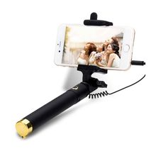 Universal Extendable Handheld Bluetooth Wired Remote Selfie Stick Monopod Free Shipping