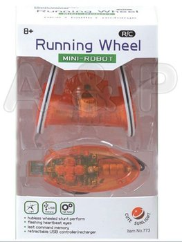 Free shiping, Novelty item, R/C running wheel, Remote Control Mini Robot, Desk pet toys, HIGH-TEACH PRODUCTS IR, mirco control