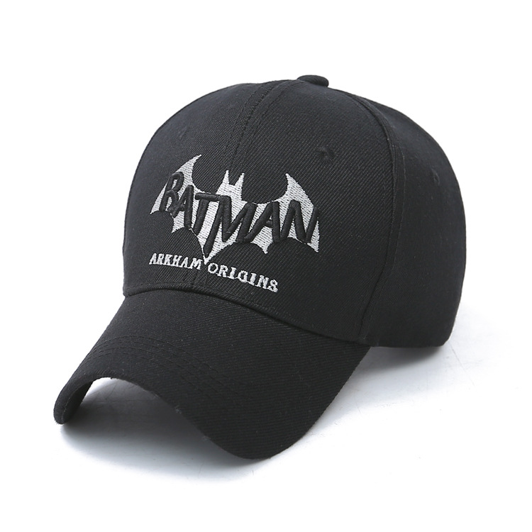 Europe and the United States and the spring and autumn seasons new baseball cap, men's Ladies embroidered Batman hat,hip hop hat(China (Mainland))