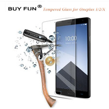 OnePlus 1 2 3 3T X Screen Protector Tempered Glass Premium 9H Protective Film One Plus Two Three ExplosionProof Films - BUYFUN Official Store store