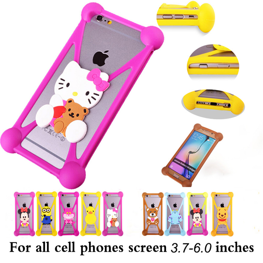 Cover For Huawei Ascend P1 U9200 Anti-knock 3D Cute Cartoon Soft Silicone Phone Case For Huawei Ascend P1 U9200 Back Cover(China (Mainland))
