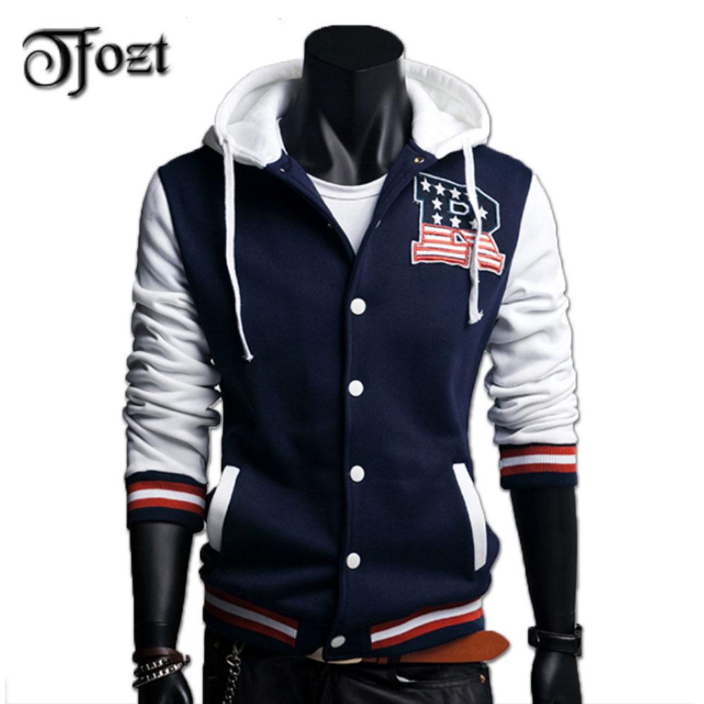 Mens Baseball uniform Men's Hoodies Jackets brand hoodies men Sports Casual Men's Fleece Hoodies Coats 25039(China (Mainland))