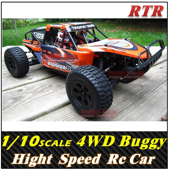 HSP BREAKER EP 1/10 Scale 4WD off-Road Desert baja , Electronic Rc Car toys buggy ,Free shipping(China (Mainland))