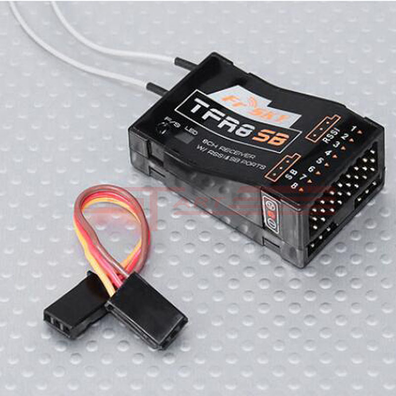 Newest 10pcs FrSky RC 8CH TFR8SB Receiver Compatible with 2.4G Futaba FASST Low Shipping Fee<br><br>Aliexpress