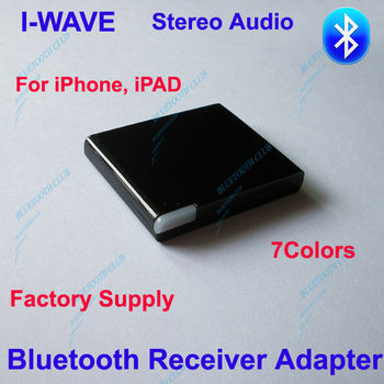 Factory Supply High Quality A2DP Bluetooth Wireless Music Receiver Stereo Audio Adapter for Dock Station Speaker-- Free Shipping