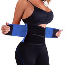 Unisex exercise weight loss burn body shaper workout gym fitness belt men and women lumbar support neoprene waist trimmer belt