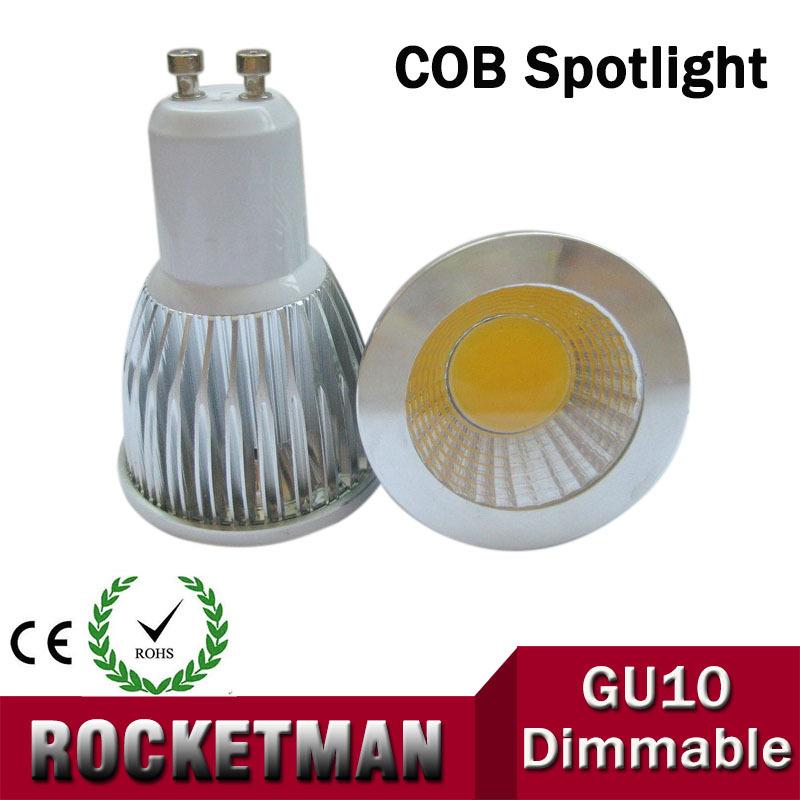 GU10 12W 9W 6W Dimmable COB LED Sport light lamp led bulb warm cold white Lmape 220V 110V AC85-265v Super Bright ZK50(China (Mainland))