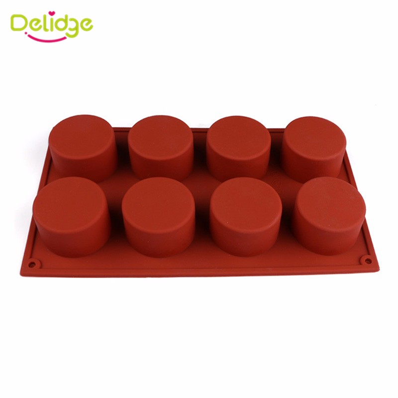 1-pcs-8-Holes-Round-Cupcake-Mold-Silicone-Handmade-Jelly-Pudding-Cookie-Ice-Craft-Mold-DIY