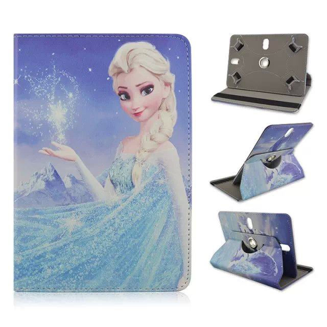Cartoon Universal leather cover For Dell Venue 10 pro 5000 5055 /Toshiba Encore 2 WT10 Case Wallet Flip Tablet Bag Large Size(China (Mainland))