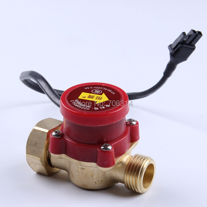 """HT-60 G 3/4 """"-1/2"""" water pump flow switch 1A.booster pumps flow switch(China (Mainland))"""