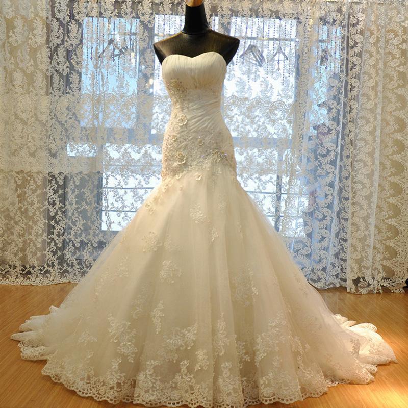 Свадебные платья русалочка