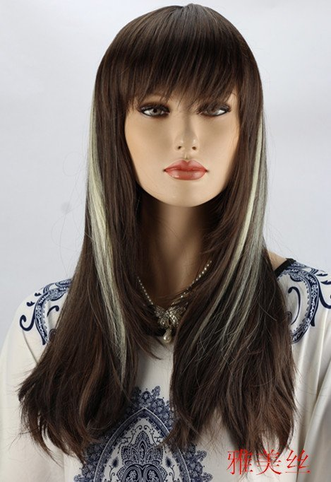 Black with white highlights hair hairs picture gallery black with white highlights hair hd image pmusecretfo Images