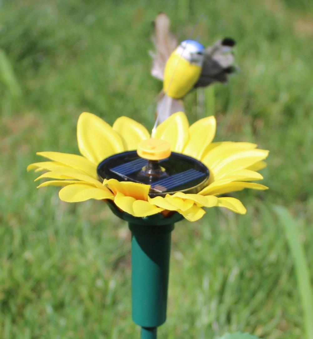 Здесь можно купить  Solar Sunflower Flying Fluttering Hummingbird Birds Garden Stake Garden Ornament Gifts 144 pcs Solar Sunflower Flying Fluttering Hummingbird Birds Garden Stake Garden Ornament Gifts 144 pcs Дом и Сад