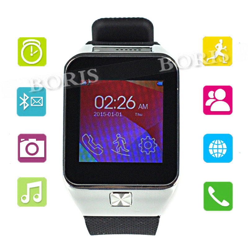 Bluetooth smartwatch GSM LG HTC Android Samsung iPhone 5 6 free shipping lamtop hot selling original lamp with housing np02lp for np50