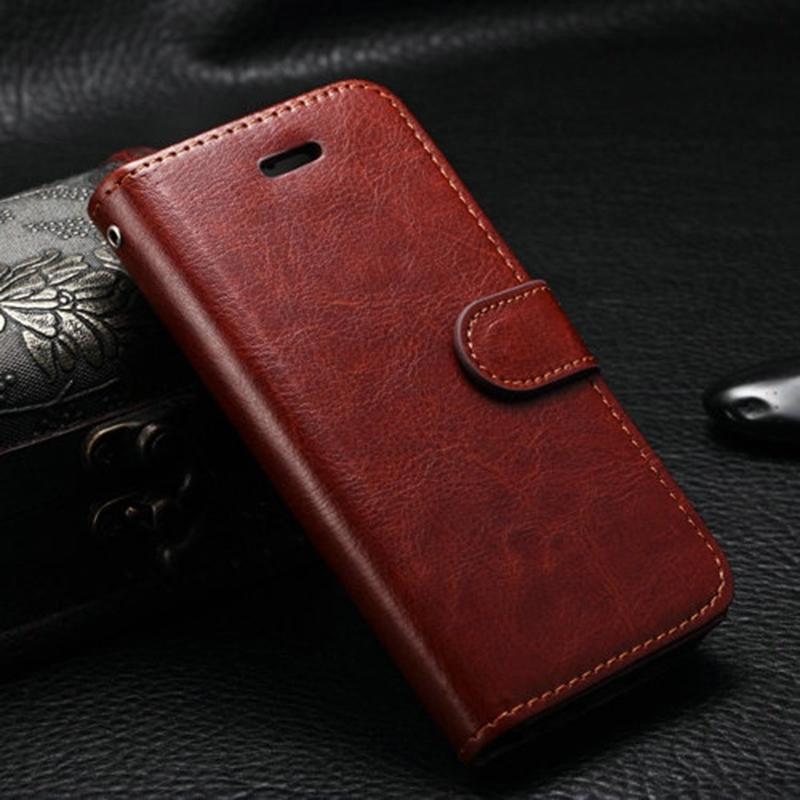 Гаджет  5S Luxury Leather Mobile Phone Case For iphone 5S 5 Vintage Flip Cover Wallet Case With Photo Frame Card Holder None Телефоны и Телекоммуникации