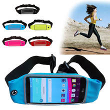 Outdoor Sport GYM Waist Pack Pouch Waterproof Running Bags Wallet phone Case For LG H735 band Play Zero pocket Universal
