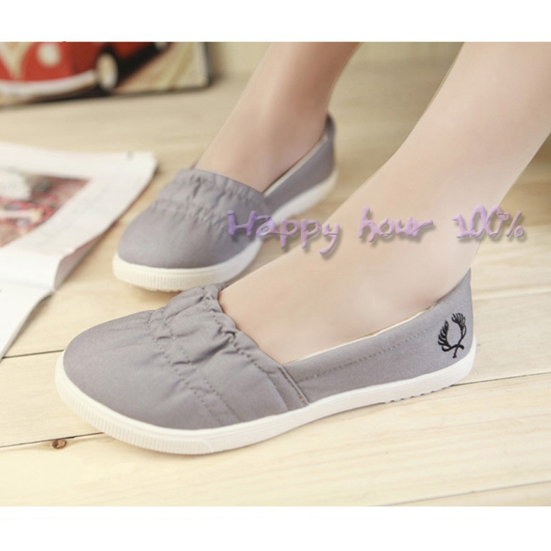 wholesale breathable canvas shoes for casual flats