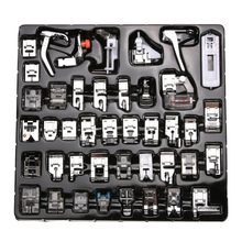Buy 42 PCS/Set Sewing Machine Foot Domestic Sewing Machine Foot Feet Snap Sewing Tools Accessory Brother Singer Janom for $18.24 in AliExpress store