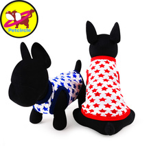 petcircle new arrival pet dog clothes summer soft dog vests shirts for chihuahua  2 color size XXS-L pet products free shipping