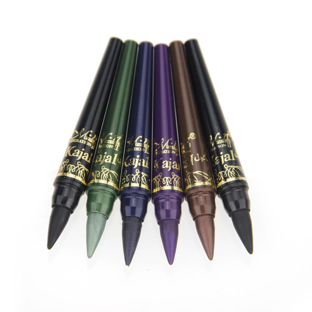Professional Brand Makeup M.n Eye Shadow Pencil Set 6 Colors Waterproof Eyeliner Make Liner Crayon Cosmetics Pen - Rosa Queen Beauty Shop store