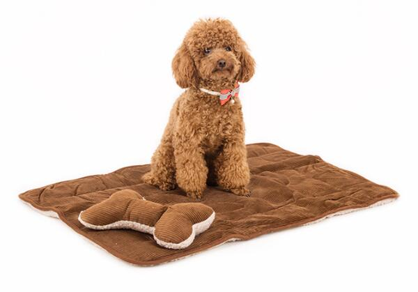 Pet dog cat warm soft blanket supplies dogs cats nest and bone pillow puppy beds products doggy litter accessories S L 1pcs(China (Mainland))