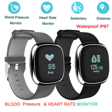 Buy 2017 V2 Bluetooth Smart Bracelet Heart Rate Monitor SmartBand Blood Pressure Monitor Waterproof IP67 Wristband IOS Android for $30.87 in AliExpress store