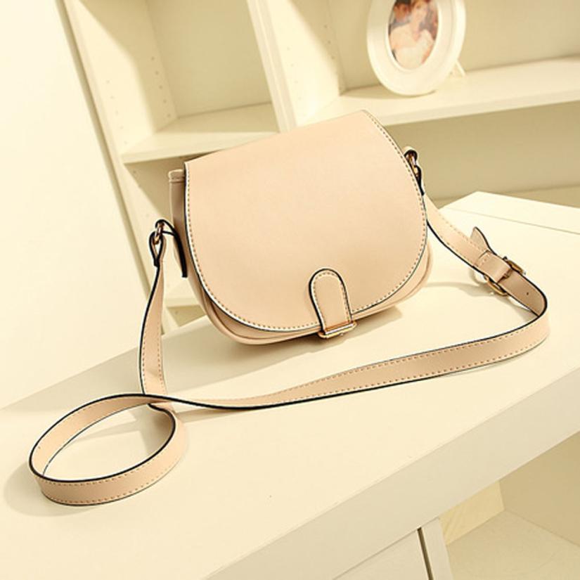 NEW Women Leather Shoulder Bag Candy Color Clutch Handbag Fashion Tote Purse Hobo Messenger #2415(China (Mainland))