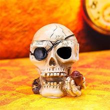 Creative Personality Fashionable Ashtray   Restore Ancient ways Furnishing Articles  Skull Ashtray  Home Decoration(China (Mainland))
