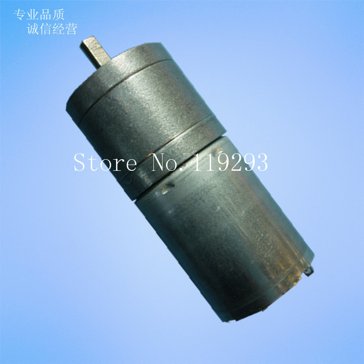 [BELLA] 370 - geared motors DC gear motor 3V-24V smart car gear motor  --10PCS/LOT