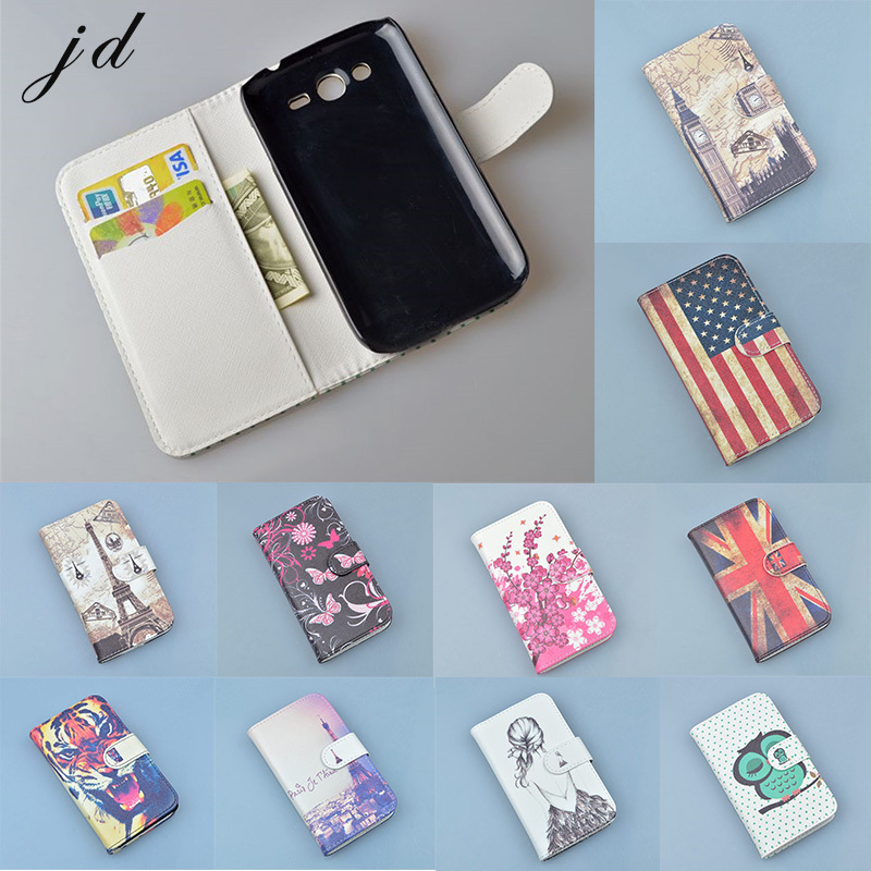 Luxury Wallet PU Leather Case Cover For Samsung Galaxy Grand I9082 i9080 Duos Neo Plus i9060 i9062 Phone Case Flip Back Cover