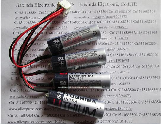 HOTNEW  YASKAWA HW0470360-A HW0470360 3.6V  Industrial robot battery The PLC server for lithium battery   4 ER6V battery pack<br><br>Aliexpress