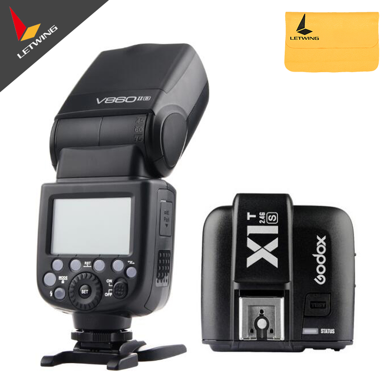 Godox V860II-S TTL 2.4G Li-ion Camera Flash Speedlite+X1T-S Transmitter for Sony(China (Mainland))