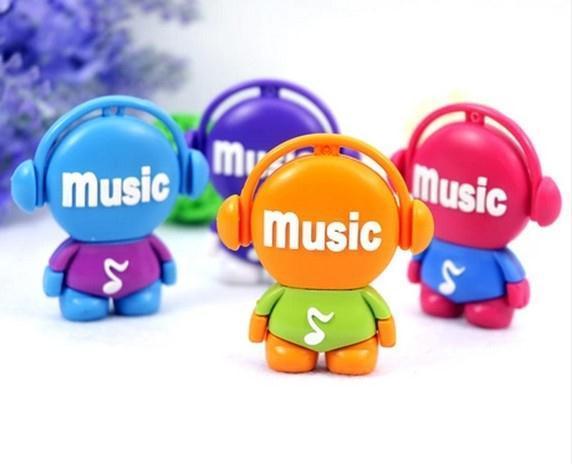 USB Flash drive cartoon lovely music player USB Flash 2.0 Memory Drive Stick 1GB-64GB S42pendrive(China (Mainland))
