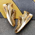 2017 Bling Sport Shoes Woman Sneakers Casual Fashion Women Shoes Breathable Air Mesh Walking Shoes Gold