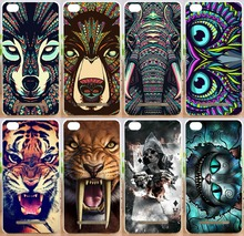 Cool Tiger Lion Wolf Rhinoceros Cat elephant Animal PC Hard Painted moblie phone case Cover Xiaomi mi4c mi 4c cases Shell - Shenzhen OK Technology Co., Ltd. store