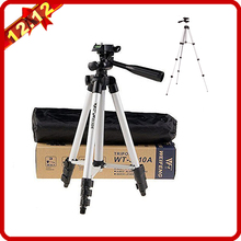 Weifeng WT3110A Tripod Aluminum With 3-Way Universal Digital Camera Tripod for Canon Nikon Sony Pentax DSLR WT-3110A