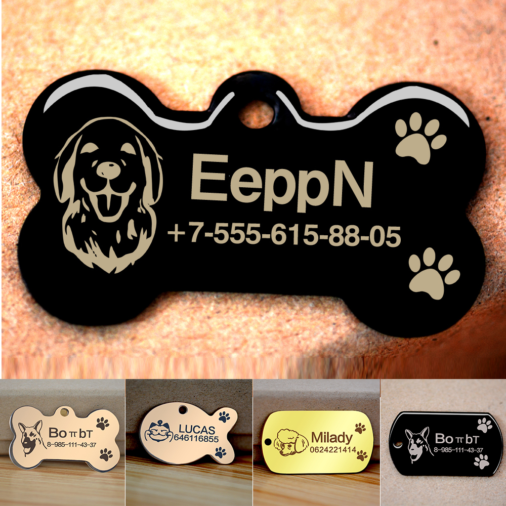 Dog Collar Name Phone Number