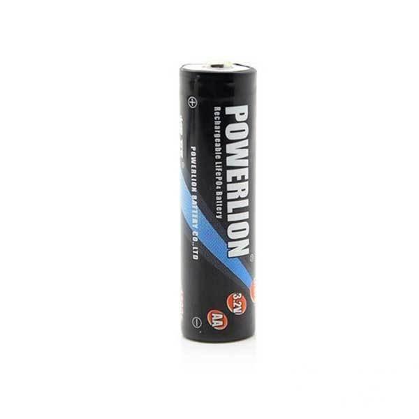 BuyGento Cheap Powerlion AA 14500 650mAh 3.2V Rechargeable LiFePO4 Battery(China (Mainland))